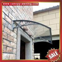 Wholesale excellent house diy door window pc polycarbonate canopy awning shelter canopies with cast aluminium alu arm bracket from china suppliers