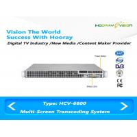 Wholesale Simple Digital Media Content Creation IPTV OTT DVB Multi Screen Transcoding System from china suppliers