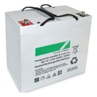 Wholesale Black 55ah Deep Cycle Lead Acid Battery 12v Sealed , 16kg Weight from china suppliers