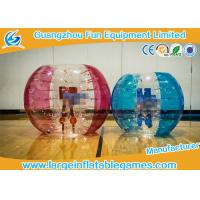 Wholesale Bright Color Knocker Inflatable Rolling Ball , Inflatable Sumo Ball For Playing Games from china suppliers