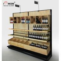 Wholesale Commercial Wine Display Racks And Liquor Shelving For Wine Stores / Shops from china suppliers