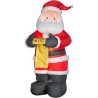 Wholesale PVC Customized Inflatable Cartoon Characters Giant Inflatable Santa Claus from china suppliers