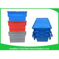 Buy cheap Stackable Plastic Storage Containers With Attached Lids Heavy Duty from wholesalers