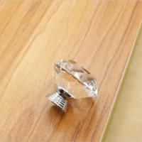 Wholesale European Style Drawer Crystal Pulls Cabinet Door Pulls Handles Furniture Konbs from china suppliers