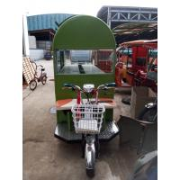 Wholesale Multi Functional 1000W Electric Food Truck Custom Food Carts 30km/H from china suppliers