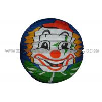 Wholesale Clown Pattern Printed Paper Accordion Lanterns / Balls 20CM 25CM 33CM  Customized from china suppliers