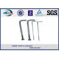 Wholesale Foundation L Type Anchor Railway Bolts Rail Fastening Products from china suppliers