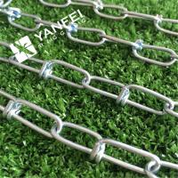 Wholesale Stainless Steel AISI304/316 Knotted Chain Metal Link Chain for Dog from china suppliers