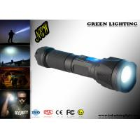 Wholesale 1300 Lum Cree Led Torch , IP 67 Waterproof 500 Meter Throw Beam Led Torchlight from china suppliers