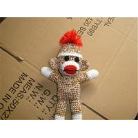 Wholesale Sock Monkey Knit Stuffing Toy Christmas Ornament Christmas Ornament Plush Stuffed Animal from china suppliers