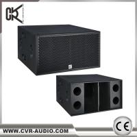 Wholesale Real Sound Speakers  2x18 Subwoofer Big Subwoofers 2000watt Active Neodymium Sub-Bass from china suppliers