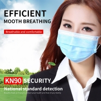 Wholesale Printing Disposable Mouth Earloop 3 Ply Face Mask from china suppliers