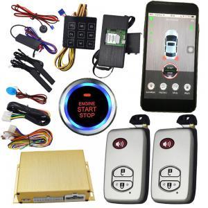 Buy cheap Smartphone Remote Start Car Alarm Controlled By Phone / Remote Car Starter From Phone from wholesalers