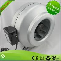 Wholesale High Efficiency Circular Inline Duct Blower , Centrifugal Ducted Exhaust Fan from china suppliers