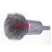 Crimped wire end brush - Stainless Steel Wire