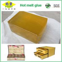 Wholesale EVA And Resin Hot Melt Adhesive Block For Fabric Boxes With Strong Viscosity from china suppliers