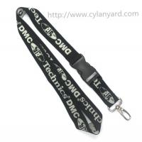 Wholesale Single sided jacquard logo lanyards, Promotional custom logo jacquard woven lanyards, from china suppliers