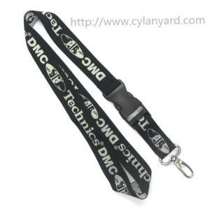 Wholesale Single sided jacquard logo lanyards, Promotional custom logo jacquard woven lanyards, from china suppliers
