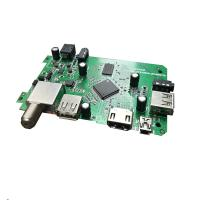Wholesale DVB3510C SMT PCB Assembly Video De Interlacing And Post Processing For DVB 6101s 2 Channel Audio from china suppliers