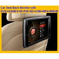 "Wholesale wireless game car pad 10.1"" Headrest DVD Player support GAMES+IR+FM+SD+USB+MP4+RMVB from china suppliers"