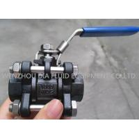Industrial Lever Ball Valve End : Pc oil industrial ball valves with socket welding end