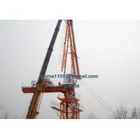 Wholesale New Model D80 4015 Jib Luffing Tower Crane 6tons Load 40m Boom 1.2*3m Mast Section from china suppliers