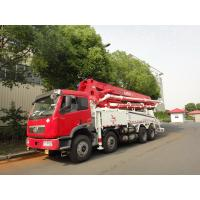 Wholesale RHD 37m 8x4 FAW 380HP Concrete Pump Trucks with LNG engine from china suppliers