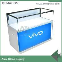 Buy cheap Cell phone display showcase mobile counter design phone display showcase wholesaler from wholesalers