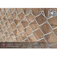 Wholesale 4.0mm Galvanised Chain Link Mesh Fence 50X50 mesh aperture from china suppliers