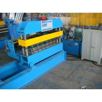 Wholesale Cr12  Hydraulic Curving Machine with Line Speed 0-10m / min for Arch Roof Panel from china suppliers