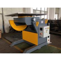 Wholesale 2T Capacity Welding Positioner With 1200mm Square Table / Tilting Speed Digital Readout from china suppliers