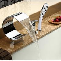 Wholesale Contemporary Waterfall Bathtub Faucet with Hand Shower, FY1107-02 from china suppliers