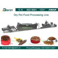 Wholesale Twin - screw Pet Food Extruder machine / food extrusion equipment from china suppliers