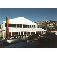 Wholesale White Aluminum Frame Double Decker Tents Fire Proof For Sun Shade from china suppliers