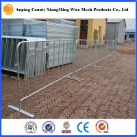 Wholesale crowd control barrier pedestrian barriers crowd control barricades crowd control fencing from china suppliers