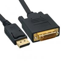 Wholesale DisplayPort to DVI Video Cable, DisplayPort Male to DVI Male, 3 foot from china suppliers