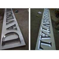 Wholesale Metal LED Backlit Sign Letters / Illuminated Sign Board Letters For Businesses from china suppliers