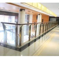 Wholesale stainless steel glass handrail glass balustrade balusters/post/column/pillar from china suppliers