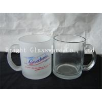 Wholesale solid color glass beer mug with handle from china suppliers