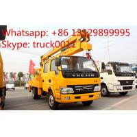 Wholesale IVECO Yuejin 14m-16m high altitude operation truck for sale, aerial working platform truck from china suppliers