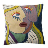 Wholesale Polyester Canvas Outdoor Decorative Picasso Throws Pillows Classical Oil Printing from china suppliers