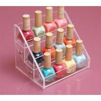 Wholesale Popular new makeup rack/acrylic nail polish stand holder cosmetic display from china suppliers