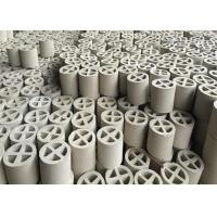Wholesale Acid Resistant Ceramic Random Packing Alumina Ceramic Cross Partition Ring from china suppliers