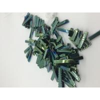 Wholesale Men / Women Strip Loose Bead Necklace Magnetic Hematite Jewelry Green Plating from china suppliers