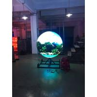 Wholesale SMD P4 Indoor Full Color Sphere Led Display Curved Led Panel Ball Shaped from china suppliers