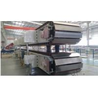 Wholesale 10 ~ 12sets Roll Stands PU Sandwich Panel Machine Mineral Wool Sandwich Panel Line from china suppliers