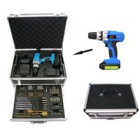 Wholesale Aluminum Case 114pcs Cordless Power Tool Set / Li-ion 1300mAh Wireless Screwdriver Bits Kits from china suppliers