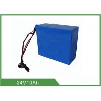Buy cheap Lithium Iron Phosphate 24v 10ah Deep Cycle Battery with low-self discharge from wholesalers