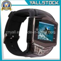 Wholesale Silver and Black Gd910 Watch Cell Mobile Phone -E02773 from china suppliers