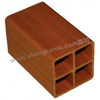 Wholesale Senkejia 60* 60 Square tube waterproof board pvc decking from china suppliers